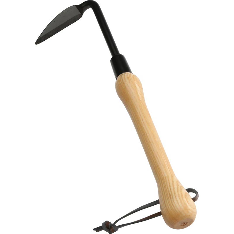 Garden Hand Scythe Weeder Sturdy Steel Blade Easy to Use
