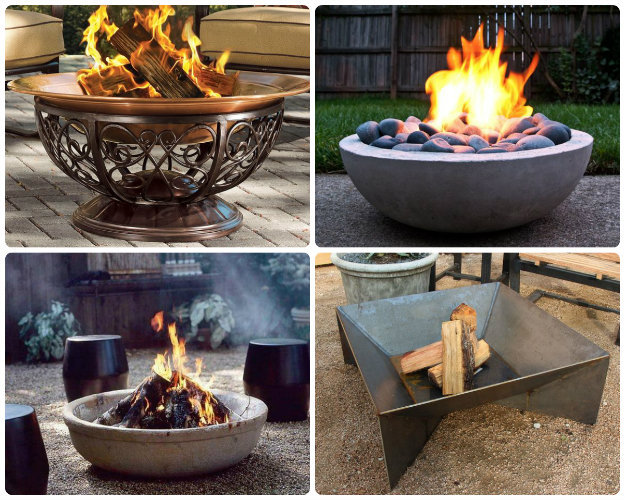 Ready to use Fire Pits