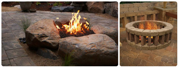 Simple Home Made Fire Pits