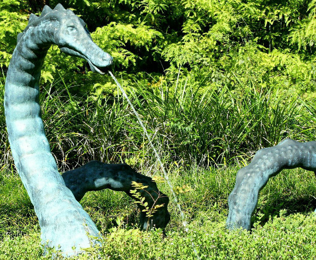 Large Dragon garden statue