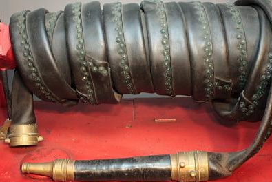Old riveted hose