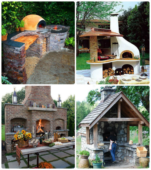 pizza /stone bake ovens with work space