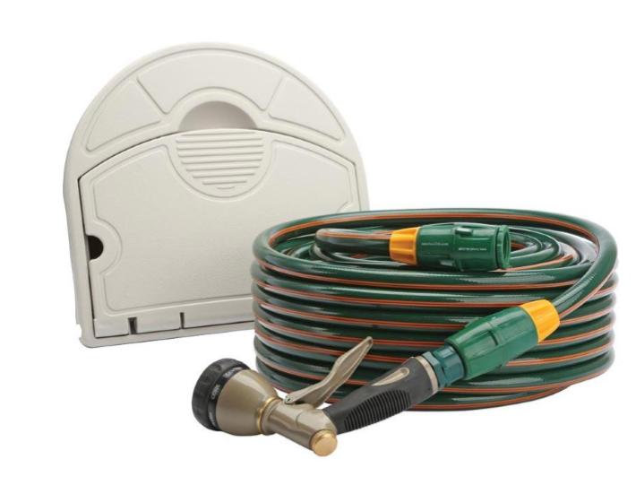 Hoselinks Superflex hose and hanger