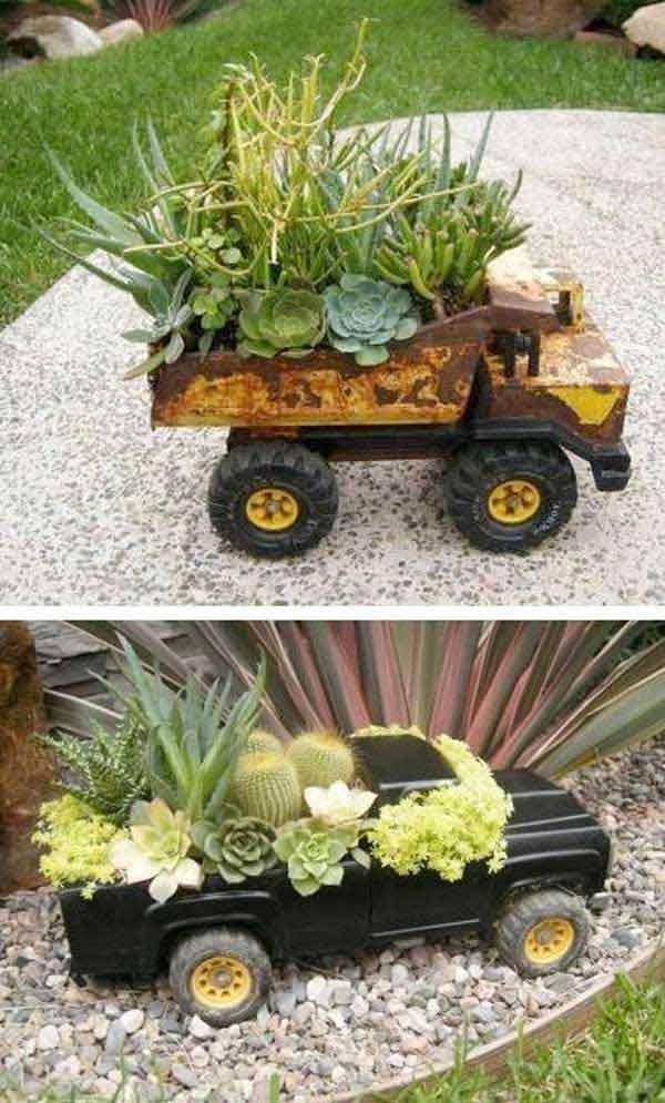 Truck Pot Plant