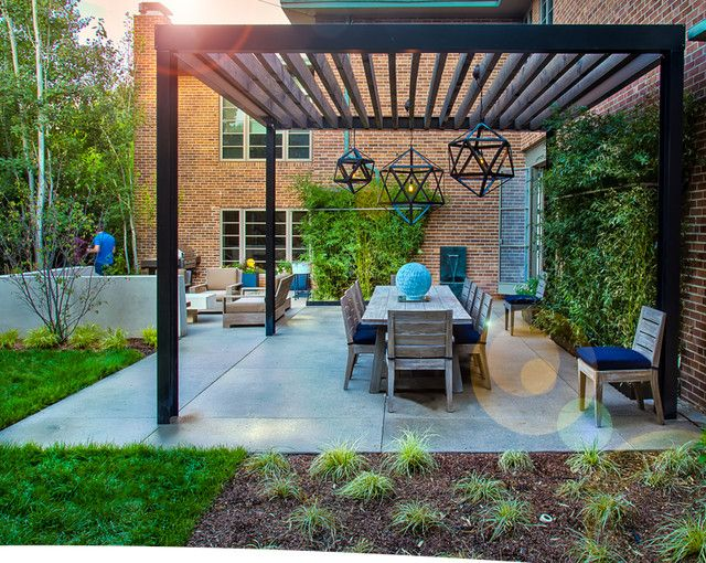 pergola patio garden