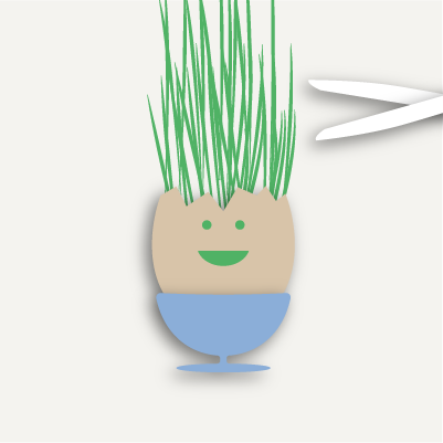 Grow Your Own Cress Head