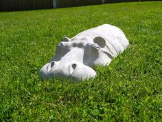 Hippo ornament to decorate your garden