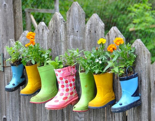 Gumboots for Pot Plants